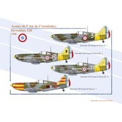 Dewoitine 520, Armée de l'Air française de l'Armistice, 1940