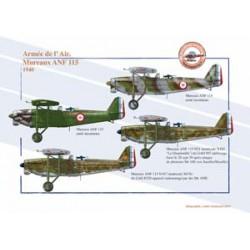 Mureaux ANF 115, Armée de l'Air, 1940