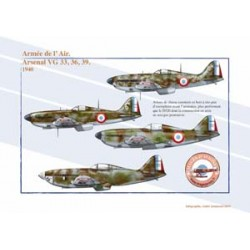 Arsenal VG 33, 36 and 39, French Air Force, 1940