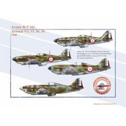 Arsenal VG 33, 36 et 39, Armée de l'Air, 1940