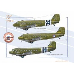 C47, US Air Force, 1942-1944