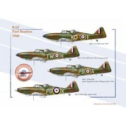 Boulton Paul, RAF, 1940