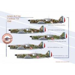 Caudron 714, Armée de l'Air, 1940