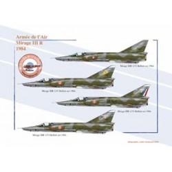 Mirage III R, Armée de l'Air, 1984