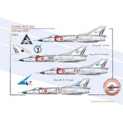 Mirage IIIC, Armée de l'Air, 1961