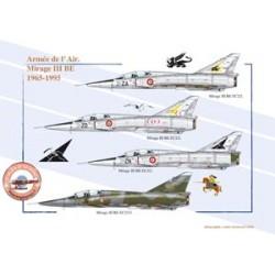 Mirage III BE, Armée de l'Air, 1965-1995