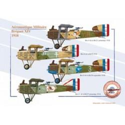 Bréguet XIV, Aéronautique Militaire, 1918