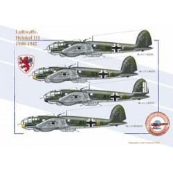 Heinkel 111, Luftwaffe, 1940-1942