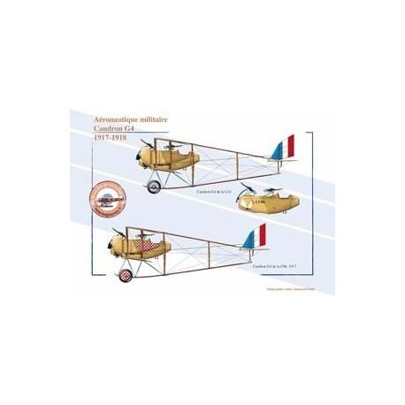 Caudron G4, Aéronautique militaire, 1917-1918