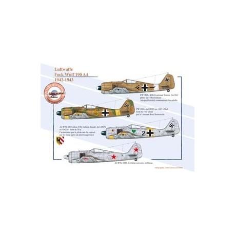 Fock Wulf 190 A4, Luftwaffe, 1942-1943