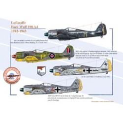 Fock Wulf 190 A4 (2), Luftwaffe, 1942-1943