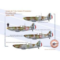 Dewoitine 520, Armée de l'Air, Armée d'Armistice, juillet 1940