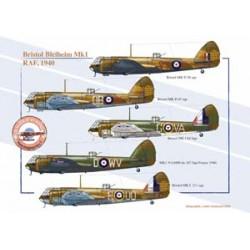 Bristol Bleiheim Mk1, RAF, 1940