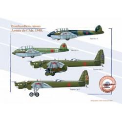 Bombardiers russes, Armée de l'Air, 1940