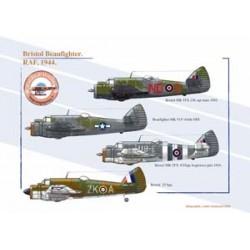 Bristol Beaufighter, RAF, 1944