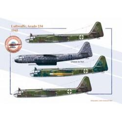 Luftwaffe, Arado 234, 1945