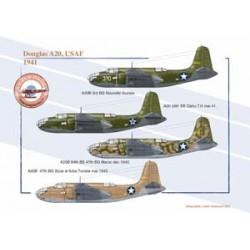 Douglas A20, USAF, 1941