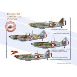 Dewoitine 520 - Armée de l'Air, 1939-1940